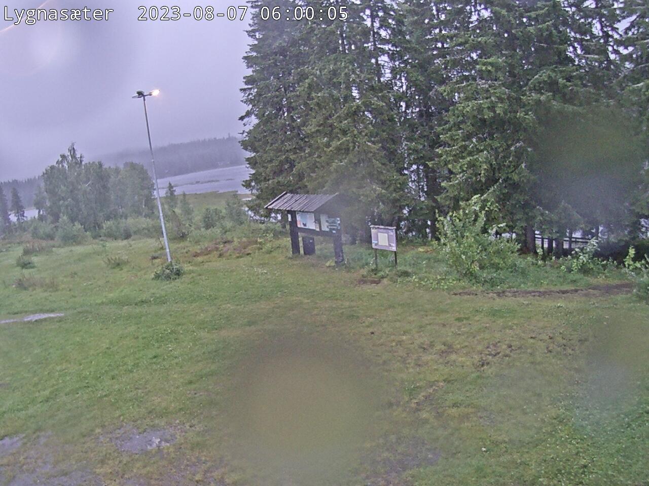 Lygna - Øståsen ski loipe; Lygnasæter; Lygnavannet